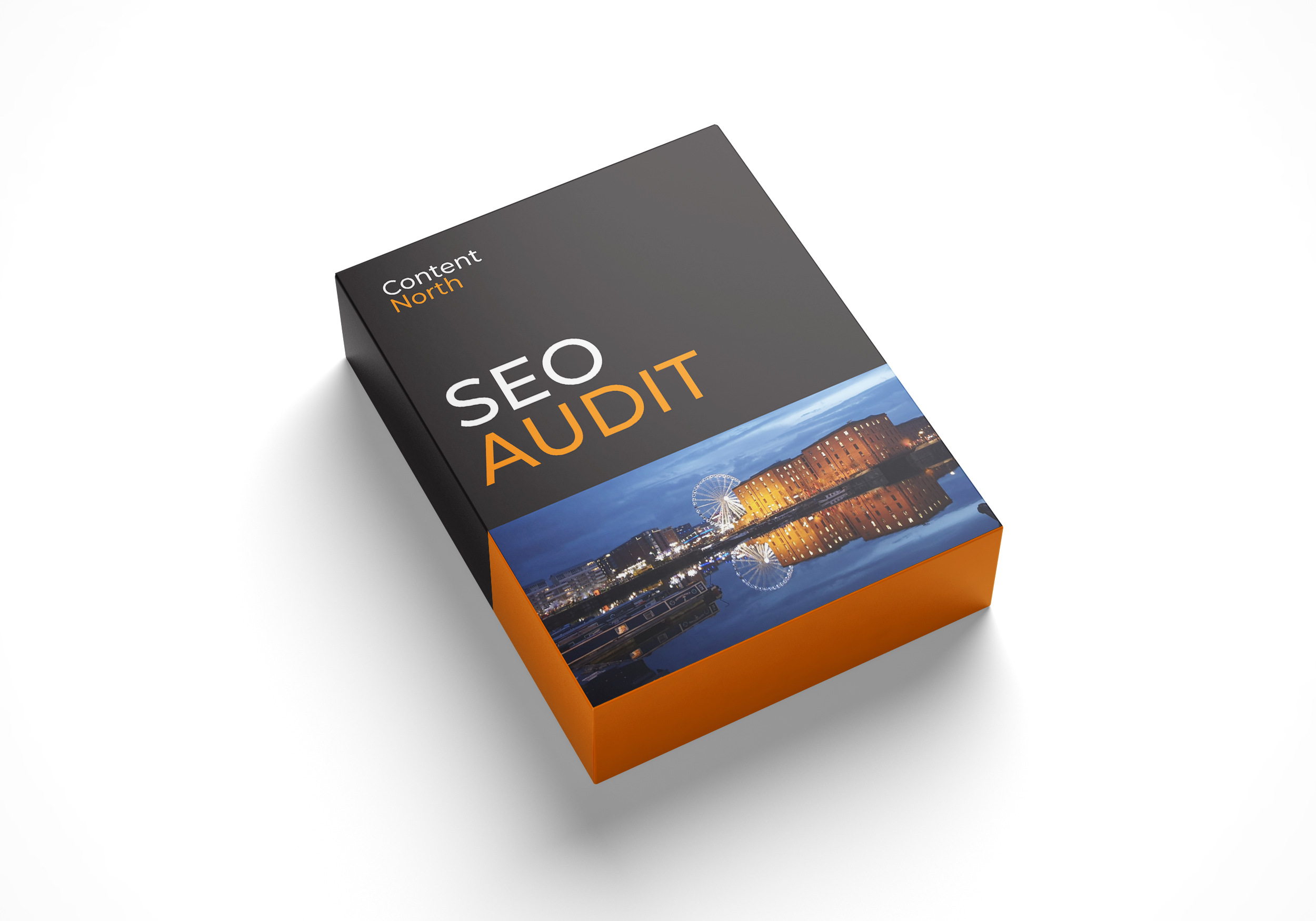SEO audit boxed product